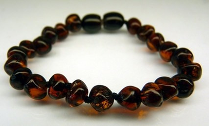 Amber Teething Bracelets - Cherry