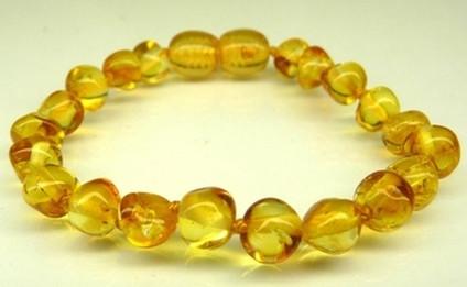 Amber Teething Bracelets - Honey