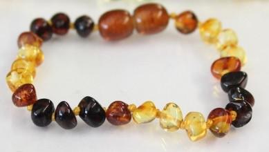 Amber Teething Bracelets - Dew Drop
