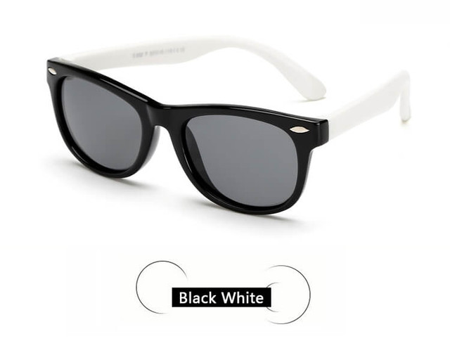 Kids Sunglasses - Black/White