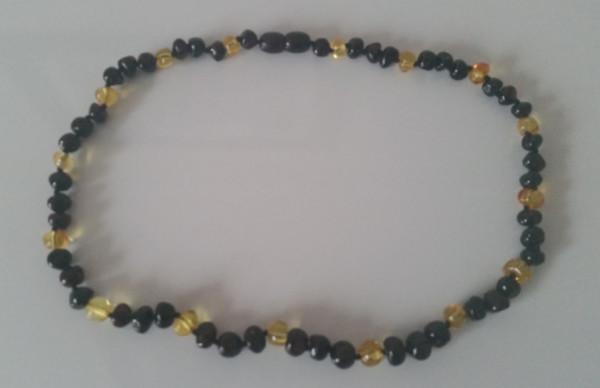 Adult Amber Necklace - Cherry/Lemon