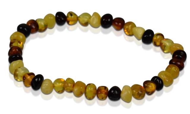 Adult Amber Bracelet - Multi-Scotch