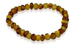 Adult Amber Bracelet - Bi-Color