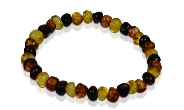 Adult Amber Bracelet - Multi-Color