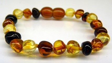 Amber Teething Bracelets - Multi-colour