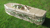 Traditional Light Willow Coffin / Wicker Coffin