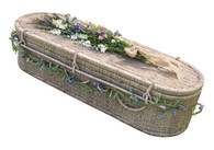 Oval Seagrass Coffin