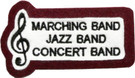 Marching, Jazz, Concert Band