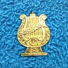Chorus Lyre Pin
