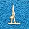 Gymnast Pin