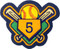 Softball Grand Slam w/ Jersey Number