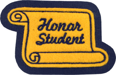 Honor Student Scroll