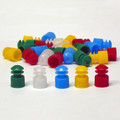 12mm Flanged Plug Cap, Polyethylene (PE)