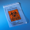 "Biohazard Specimen Transport Bag, 6"" x 9"""