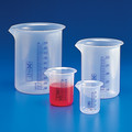 Griffin Style Beakers-Polypropylene, Printed Graduations