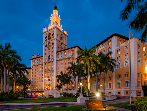 Biltmore Hotel in Coral Gables