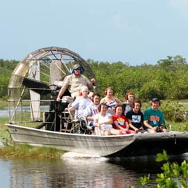 Everglades Airboat Tour And Wildlife Show