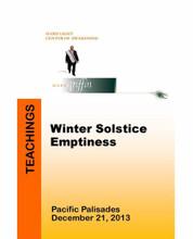 Winter Solstice - Emptiness