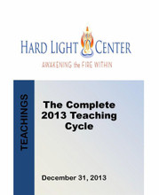 2013 Hard Light Teaching Cycle