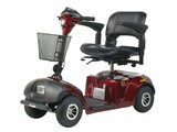 Daytona 4 GT Medium Sized 4 Wheel Scooter with Padded Seat-367