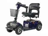 Daytona 4 GT Medium Sized 4 Wheel Scooter with Padded Seat-368
