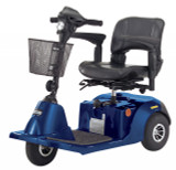 Daytona 3 GT Medium Sized 3 Wheel Scooter with Padded Seat-389