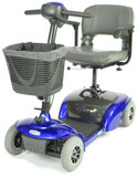Spitfire Travel 4-Wheel Compact Scooter-447