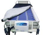 "Med Aire 8"" Defined Perimeter Low Air Loss Mattress Replacement System with Low Pressure Alarm-502"