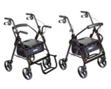 Duet Transport Wheelchair Rollator Walker-700