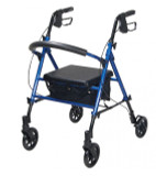 "Adjustable Height Rollator with 6"" Wheels-706"
