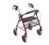 Four Wheel Rollator with Fold Up Removable Back Support-713
