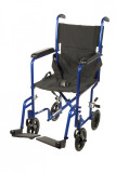 Lightweight Transport Wheelchair-ATC17bl