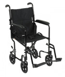 Lightweight Transport Wheelchair-ATC19bk
