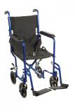 Lightweight Transport Wheelchair-ATC19bl
