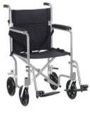 Flyweight Lightweight Transport Wheelchair-753