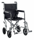 Go Cart Light Weight Transport Wheelchair with Swing away Footrest-762