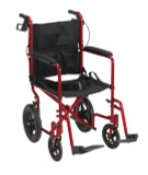 Lightweight Expedition Transport Wheelchair with Hand Brakes-765