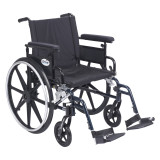 "Viper Plus GT Wheelchair with 20"" wide seat and Flip Back Adjustable Arms with Various Front Rigging-825"