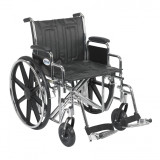 "Sentra EC Heavy Duty Wheelchair with 20"" wide seat and Various Arm Styles and Front Rigging Options-883"