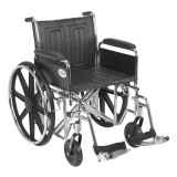 "Sentra EC Heavy Duty Wheelchair with 20"" wide seat and Various Arm Styles and Front Rigging Options-884"