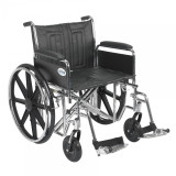 "Sentra EC Heavy Duty Wheelchair with 22"" wide seat and Various Arm Styles and Front Rigging Options-888"