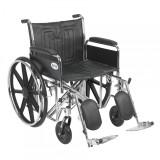"Sentra EC Heavy Duty Wheelchair with 22"" wide seat and Various Arm Styles and Front Rigging Options-890"