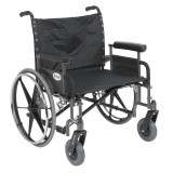 "Sentra Heavy Duty Wheelchair with 26"" wide seat and Various Arm Styles-896"