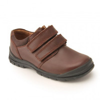 ENGINEER JNR BROWN LEATHER START-RITE