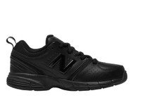 625  BLK LEATHER LACEUP NEW BALANCE