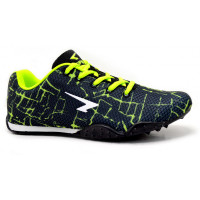 SPRINT JNR RACING FLAT - BLACK/LIME