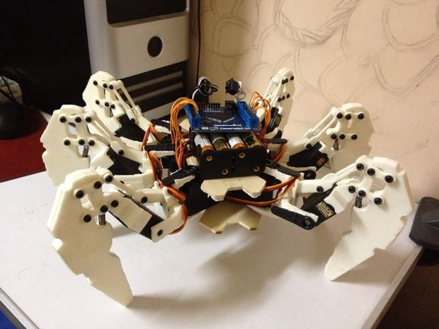 Build Your Own Hexapod Robot with FPGA - Gadget Factory LLC