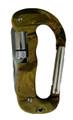 "Carabiner 3.15"" (8cm) Multi tool Flashlight Military"