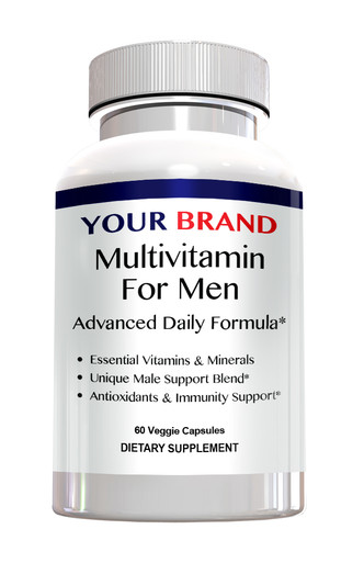 Private Label Supplements Mutivitamin For Men