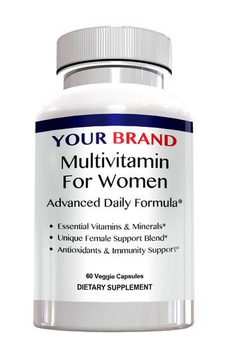 Private Label Supplements Mutivitamin For Women